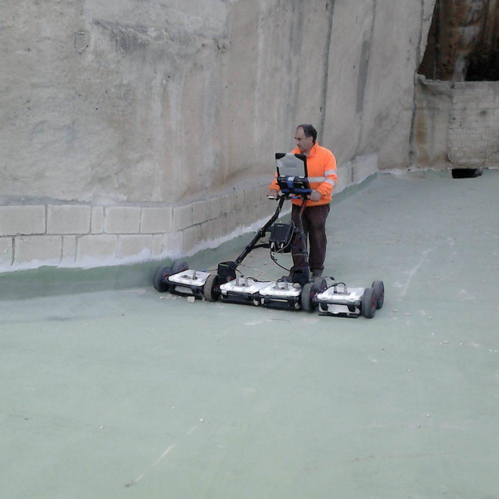 C.M.G. Testing Srl Indagine Georadar